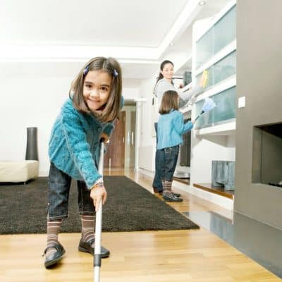 Fun Sneaky Ways to Get Kids to Clean
